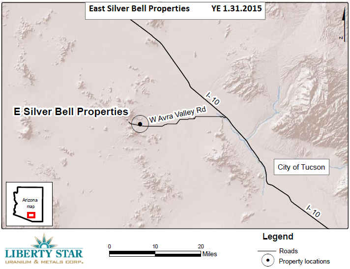 East Silver Bell Map YE 1.31.2015 20150428