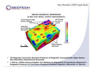 Mag3D Magnetic Inversion Feb 2014
