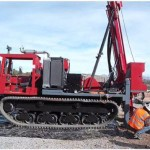 diamond core drill rig trucktrack mounted