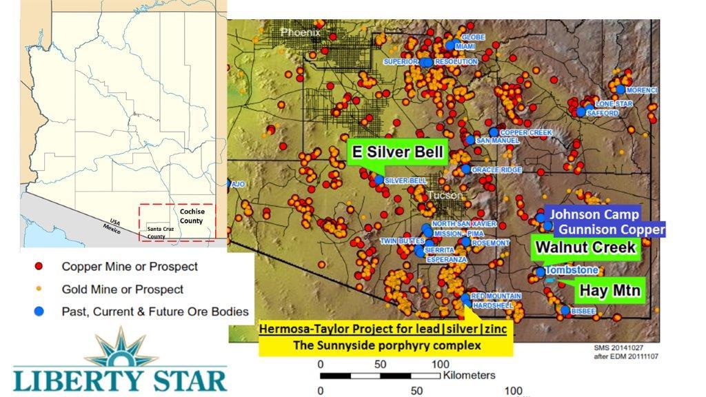 Geologic Map Of Arizona.Mineral Exploration Resource Development Liberty Star Uranium